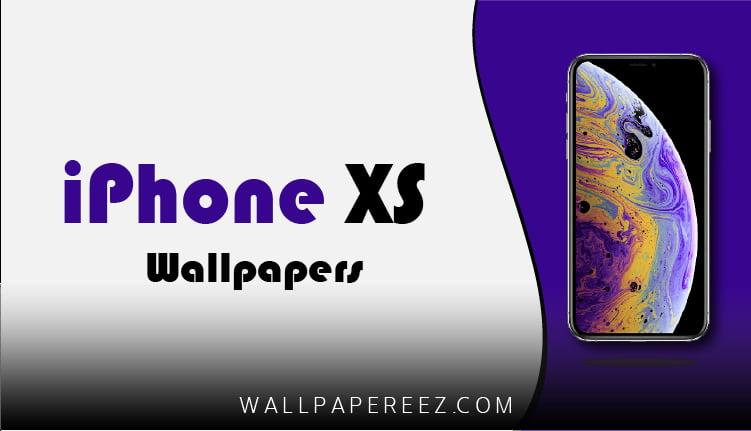 خلفيات iPhone XS الأصلية