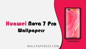 خلفيات هواوي نوفا 7 برو الاصلية | خلفيات جوال رائعة