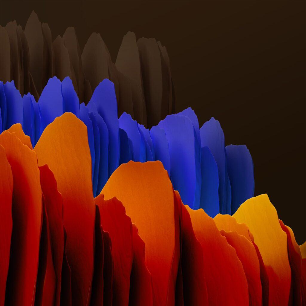 خلفيات جوال سامسونج جالكسي تاب S7+ الأصلية