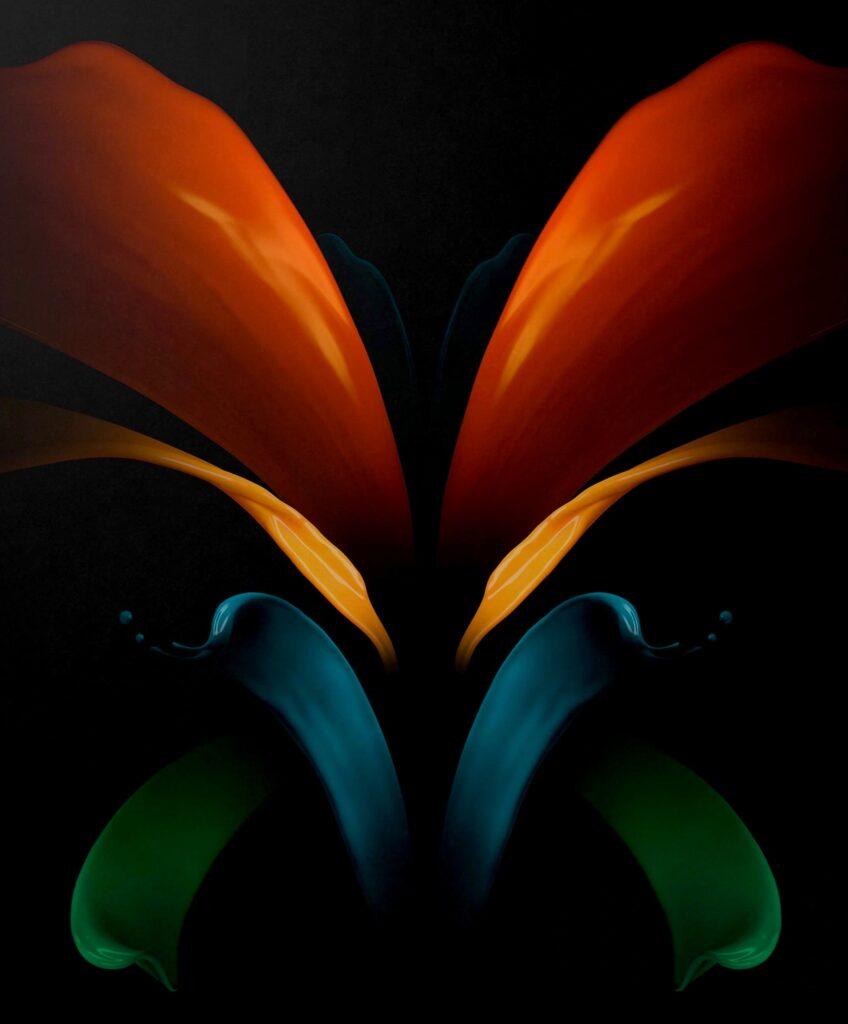 خلفيات جوال سامسونج Galaxy Z Fold 2 الاصلية