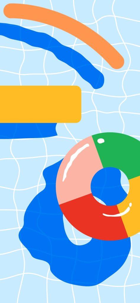 خلفيات Google Pixel 4a الاصلية 5