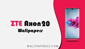 خلفيات ZTE Axon 20 الاصلية | خلفيات جوال جميلة