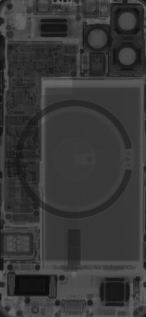خلفيات iPhone 12 X-Ray 