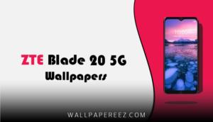 خلفيات ZTE Blade 20 5G الاصلية | خلفيات طبيعية للموبايل