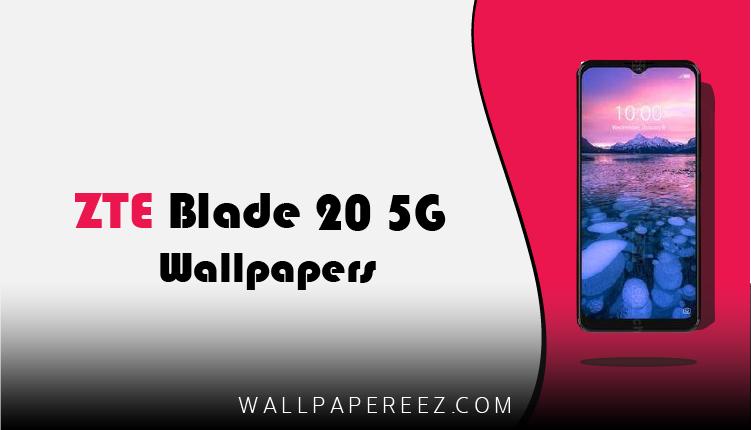 تحميل خلفيات ZTE Blade 20 5G الاصلية برابط مباشر