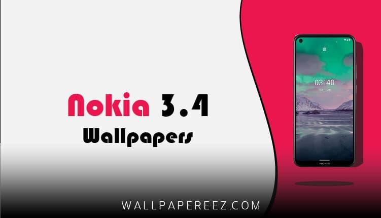 خلفيات Nokia 3.4 الاصلية | خلفيات نوكيا روعة