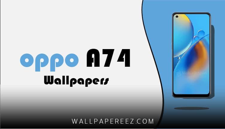 خلفيات أوبو Oppo A74 الاصلية | خلفيات روعة