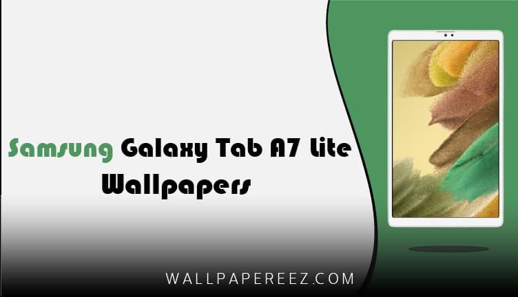 خلفيات Samsung Galaxy Tab A7 Lite الرسمية