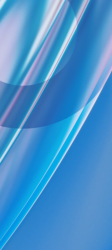 خلفيات OnePlus Nord CE الرسمية الوان لامعة زرقاء