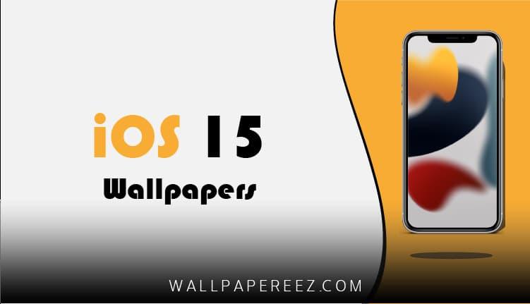 خلفيات iOS 15 الرسمية