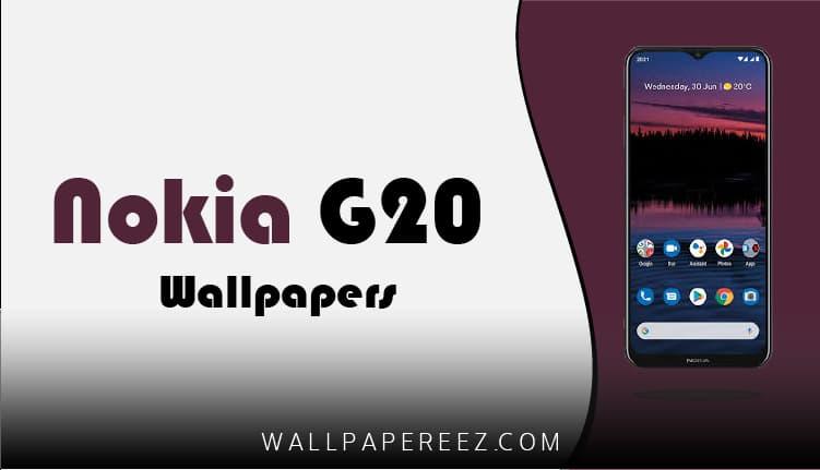 خلفيات Nokia G20 الرسمية